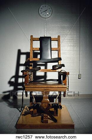 The electric chair (for death penalty) at the Greensville Correctional ...
