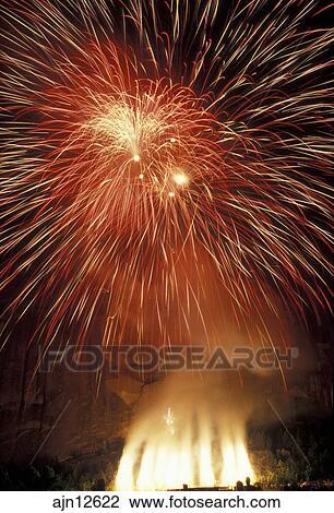 stock photo of fireworks stone mountain stone mountain park
