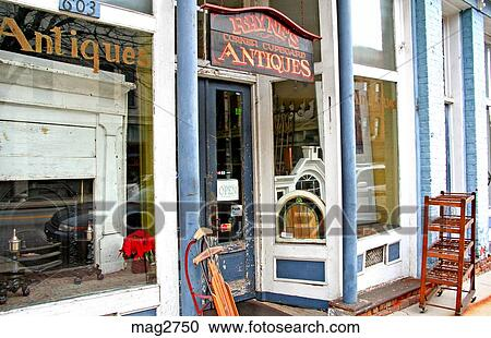 antique stores greensboro nc Stock Photography of Antique store Elm Street Greensboro North  antique stores greensboro nc