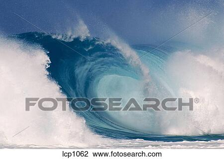 9ce60a614c Stock Photo of breaking wave