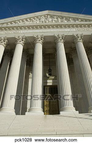 合衆国最高裁判所, 中に, washington d. c., 中に, 明るい, 日光 写真 ...