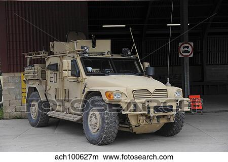 A Husky Tsv Armored Vehicle Of The British Army Picture Ach100627m Fotosearch