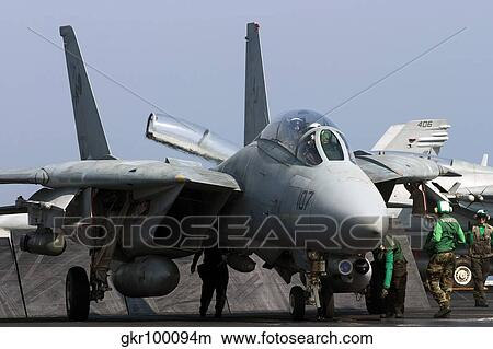 USN US Navy F-14B Tomcat aircraft Iraqi Freedom I 8x12 Photograph