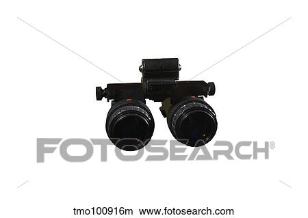 AN/AVS-6 night vision goggles used by the military  Picture