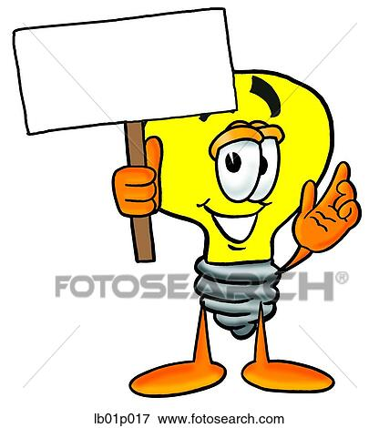 clip art of light bulb with a sign lb01p017 search clipart rh fotosearch com fotosearch clip art trigger point fotosearch clipart free