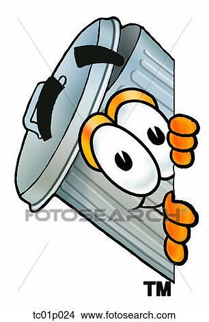 Clipart poubelle jeter coup oeil autour de c t tc01p024 recherchez des clip arts des - Dessin de poubelle ...