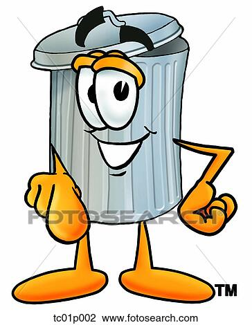 clipart of trash can pointing at you tc01p002 search clip art rh fotosearch com trash can clipart png trash can clipart free