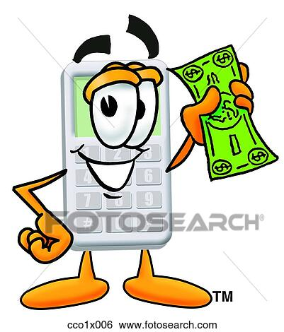clip art of calculator with money cco1x006 search clipart rh fotosearch com fotosearch clipart fotosearch clipart free