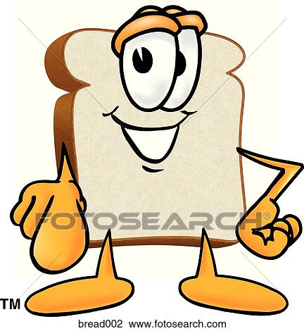 clip art of bread pointing at you bread002 search clipart rh fotosearch com painting clip art outline painting clip art pictures