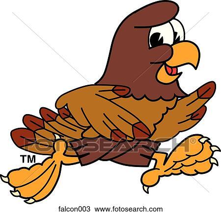 Dessin faucon courant falcon003 recherchez des - Dessin de faucon ...