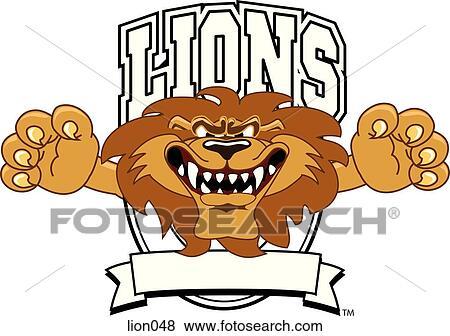 lion logo design graphic 1