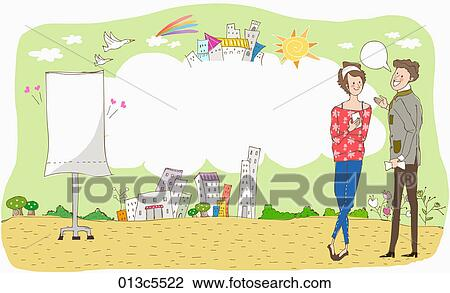 Illustration Of Fair Election Clipart 013c5522 Fotosearch