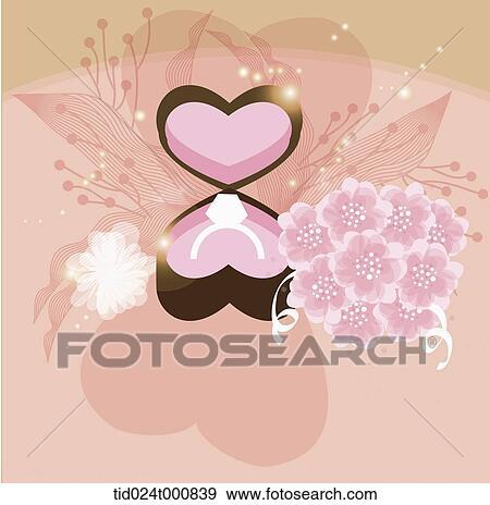 イラスト の A 結婚式 イラスト Tid024t000839 Fotosearch