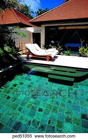 Guam, Day, Resort, Suntan Chair, Bench, Sofa