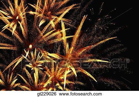 stock images of fireworks display flame blaze spark firework