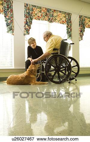 petting mann und frau