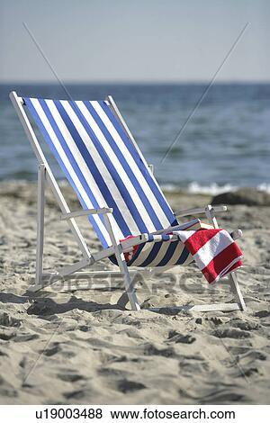 bleu blanc transat plage - Transat De Plage