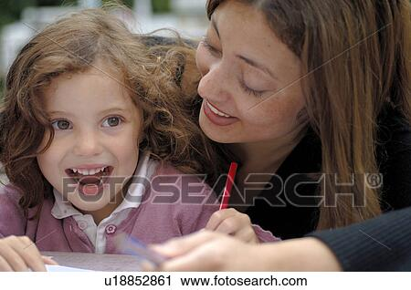Learning Together Stock Image U18852861 Fotosearch