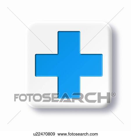 Archivio Fotografico Pronto Soccorso Simbolo Grafica U22470809