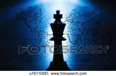Stock Fotografie - koenig, schachfigur. Fotosearch - Suche Stockfotos, Fotos, Prints, Bilder und Foto Clipart
