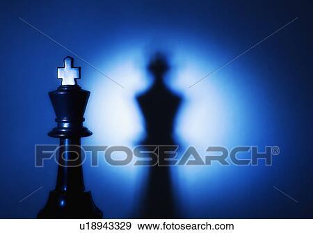 Stock Fotograf - koenig, schachfigur. Fotosearch - Suche Stock Fotografie, Poster, Bilder und Foto-Clipart