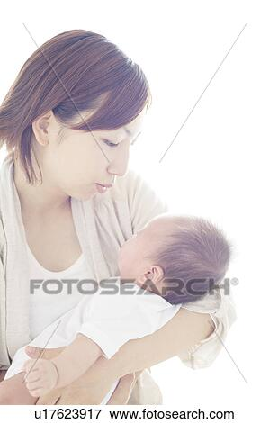 carrying newborn