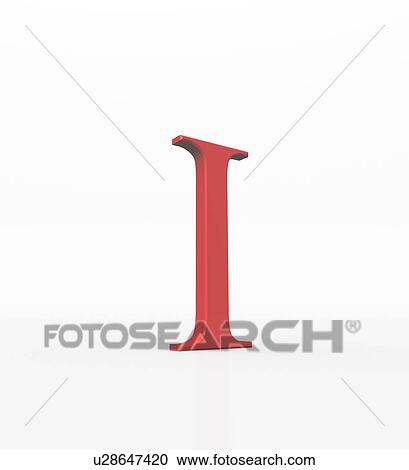 Stock graphy of Iota is the ninth letter of the Greek alphabet