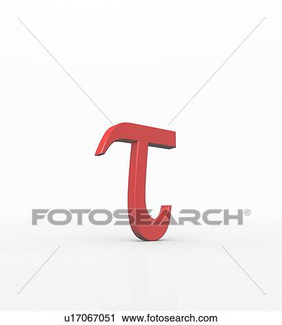 Tau is the 19th letter of the Greek alphabet. In the system of