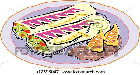 clip art of fiesta clipart plate of food u12596047 search clipart rh fotosearch com plate full of food clipart hot plate of food clipart