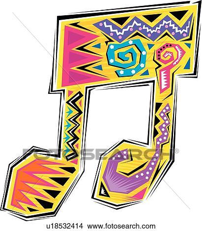 clipart of fiesta music note u18532414 search clip art rh fotosearch com fiesta clip art printables fiesta clip art images