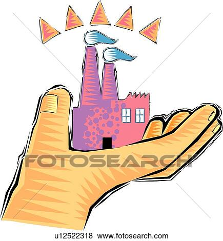 clip art of hand holding a sand castle u12522318 search clipart rh fotosearch com beach sand castle clipart sand castle clipart black and white