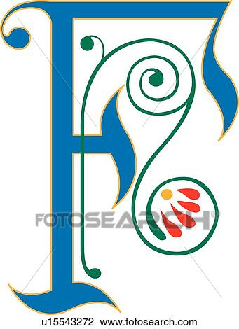 clipart of letter f u15543272 search clip art illustration murals rh fotosearch com letter f clipart