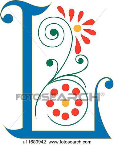 clipart of letter l u11689942 search clip art illustration murals rh fotosearch com letter clipart b letter l clipart free