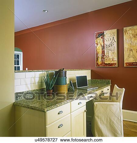 Image - cuisines, -, ouvert, plan implantation, à, cuisine, sur ...