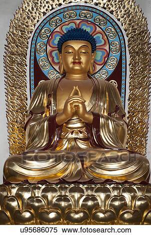stock image of statue of lord buddha china u95686075 search stock