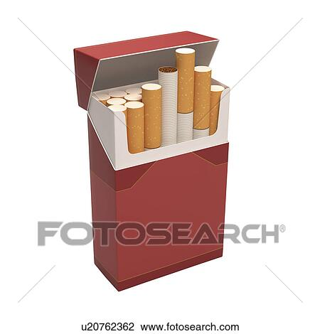 Dessin Paquet De Cigarette clipart - paquet, de, cigarettes u20762362 - recherchez des cliparts