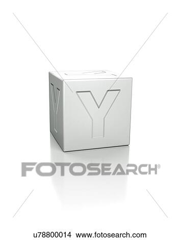 Stock Photo Of Cube With The Letter Y Embossed U78800014 Search