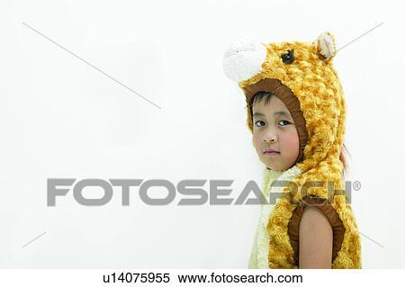 Stock Afbeelding Knippend Pad Dierlijke Druk Kind Kameel