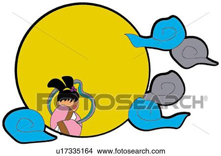 Drawings of greeting card the mid autumn festival pretty lovable greeting card the mid autumn festival pretty lovable design moon festival festival m4hsunfo