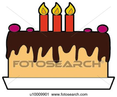 Clipart Of Taste Greeting Card Wax Polish Candlehappiness Cake