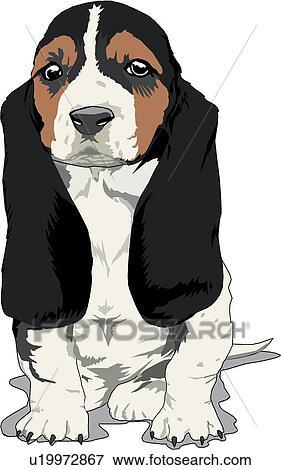 Bassotto cucciolo clip art u19972867 fotosearch