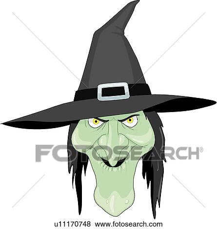 clip art of witch u11170748 search clipart illustration posters rh fotosearch com clip art witches brew clip art witch's hat