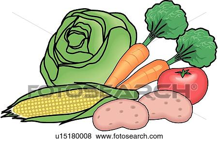 clip art of vegetable food group u15180008 search clipart rh fotosearch com group clipart in word group clipart png