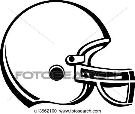 clipart of football helmet u13562100 search clip art illustration rh fotosearch com football helmet clipart silhouette football helmets clipart