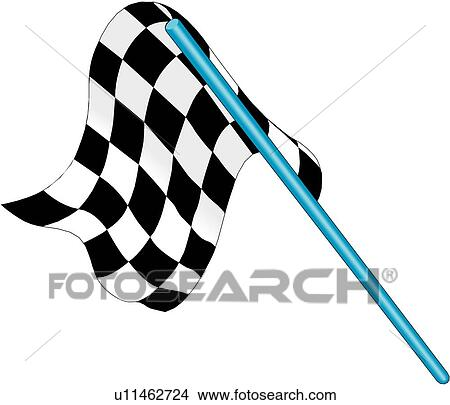 clipart of race flag u11462724 search clip art illustration rh fotosearch com race clipart racing clip art free