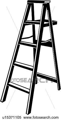 Step Ladder Clipart U15371105 Fotosearch