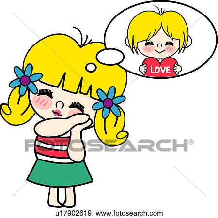 Clipart of people, present, heart, love, valentineday, chocolate ...
