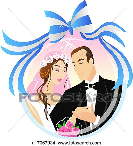 Clipart amour pouse smoking c r monie mariage - Clipart amour ...