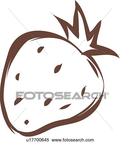 Clipart frutta icona piante pianta fragola u17700645 for Clipart frutta