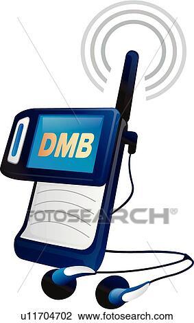 Clipart - antenne, heiligenbilder, DMB, telefongerät, mobilfunk ...